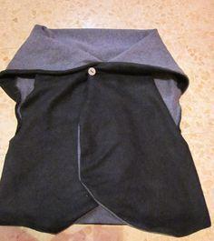 La Porta Magica - Ve a la moda cosiendo tu propia ropa. Blog de costura facil.: Tutorial...Como hacer un... Chaleco... de manera sencilla?