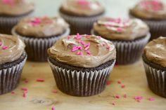 Chocolate-Avocado Vegan Cupcakes