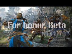 포아너 베타 멀티플레이 유비소프트 기대작 For honor Beta Multiplay PS4 Pro GTX1070 @ 패니TV P...