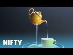 Teapot Fountain - YouTube