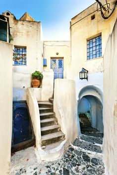 Pyrgos Village, Santorini, Greece