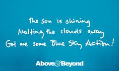 Blue Sky Action feat. Alex Vargas by Above & Beyond