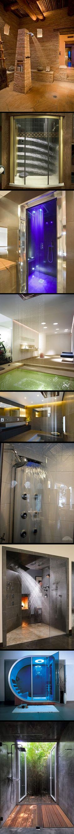 The greatest showers in the world.