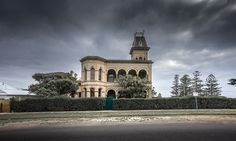 Sony Alpha A7: One of the many historic buildings in Queenscliff, Victoria (on the Bellarine peninsula at the entrance to Port Philip Bay).