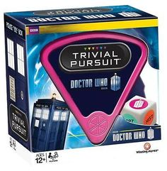 *new in box* dr #doctor who 50th #anniversary trivial #pursuit game - 12 years +,  View more on the LINK: http://www.zeppy.io/product/gb/2/142032684432/