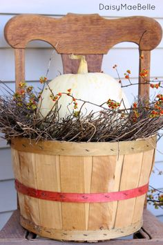 Decorating with Pumpkins #HolidayIdeaExchange