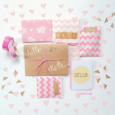 Pretty Packaging, Gift Packaging, Packaging Ideas, Creative Gift Wrapping, Creative Gifts, Cute Gifts, Diy Gifts, Envelopes, Snail Mail Pen Pals