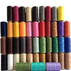 Cord Waxed Thread Wax Diy Bracelet Jewelry 285 Yards Linen Spool Leathercraft of