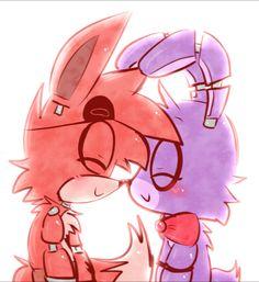 Foxy x Bonnie Fnaf