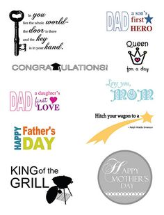Free Sentiment Download #MothersDay #FathersDay #Graduation