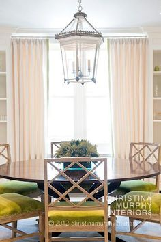 Portfolio > Classic Duplex   Christina Murphy Interiors dining room chairs