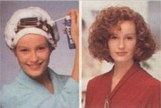 Seventies perm | by antoniaball33 New Perm, 1980s Hair, Wet Set, Perms, Curlers, Vintage Hairstyles, Hair Beauty, Hair Styles, Advertising