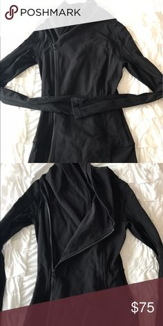 Lululemon size 2 Bahkti Jacket I love this jacket! I bought the wrong size, but this jacket is in great condition. Slight pilling in the underarm area. lululemon athletica Jackets & Coats