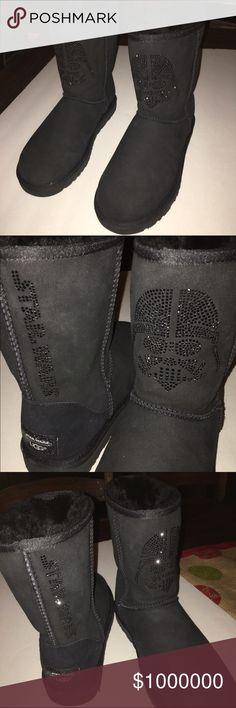ADDITIONAL PICS OF DARTH VADAR UGGS Additional pics UGG Shoes