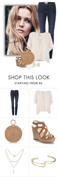 """""""Boho Edge"""" by stileclassico ❤ liked on Polyvore featuring Frame, Conquista, Burberry and Jennifer Lopez"""
