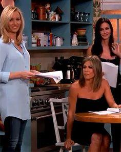 Jen Aniston, Lisa Kudrow, Courteney Cox in Friends Reunion on Kimmel - Us Weekly