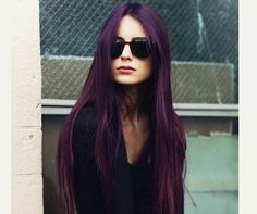 So in love with this #blackcurrant #hair perfect for changing up #pastel hair for A/W #purple #inspo #autumn #winter