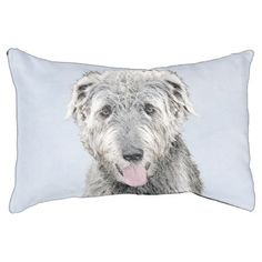 #Irish Wolfhound Pet Bed - #dogbeds #dogbed #puppy #dog #dogs #pet #pets #cute #doggie