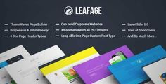 Download and review of Leafage - One Page & Corporate Responsive Theme, one of the best Themeforest Corporative themes {Download & review at|Review and download at} {|-> }http://best-wordpress-theme.net/leafage-one-page-corporate-responsive-download-review/