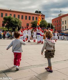 Diada de Catalunya a la Plaça de Can Mario de Palafrugell. Foto A.Torres