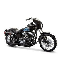 Miniatura Moto Sons of Anarchy Opie – 2001 Harley-Davidson Dyna Super Glide Sport - Maisto 1:18