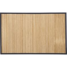 Bamboo Slate Rug in All Rugs | Crate and Barrel