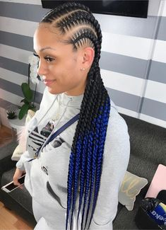 the stitch braid styles are a great choice. Here are 46 gorgeous ghana stitch braids styles ponytail for African American women to consider for your next protective style. Braided Hairstyles For Black Women, African Braids Hairstyles, Weave Hairstyles, Girl Hairstyles, Bandana Hairstyles, Black Hairstyles, Ponytail Hairstyles, Black Girl Braids, Braids For Black Hair