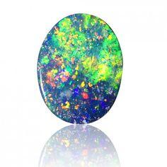1.52ct Opal Doublet by Anderson-Beattie #opal #rawopal #unsetopal #opaldoublet