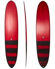 THOMAS SURFBOARDS TUGU SURFBOARD - TWO COLOUR PIGMENT