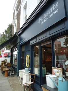Golborne Road in Notting Hill for interesting Interior shops.