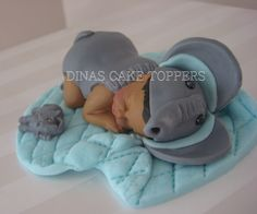 Elephant  Baby shower cake topper  name day door DinasCakeToppers, $40,00