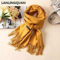 $18.54 - Cool scarf luxury brand  Desigual Cashmere bandana 2017  Fashion Women Warm scarves Scarfs Autumn Winter  shawl Cashmere Pashmina - Buy it Now!