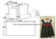 Выкройка одежды для девочки