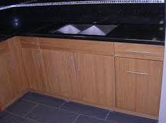Image result for flat panel kitchen cabinets Putneys Pinterest