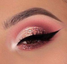 every day makeup Kiss Makeup, Makeup Art, Beauty Makeup, Hair Makeup, Makeup Goals, Makeup Inspo, Makeup Tips, Eyeliner, Eyebrows