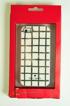 Kate Spade iPhone 5 case - Painterly Check