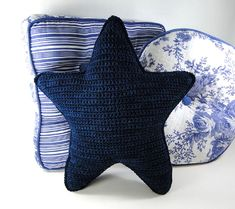 Crochet Pattern  Crochet Star Pillow Pattern 101  Instant