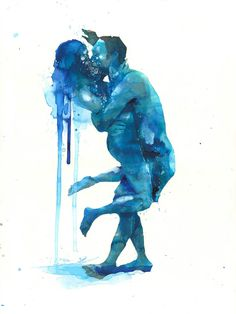Drowning In Love by Lora Zombie   Eyes On Walls