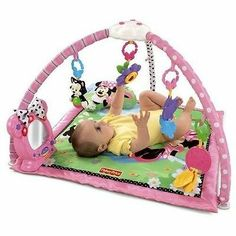 NEW Fisher-Price Minnie's Twinkling Tea Party Activity Play Gym