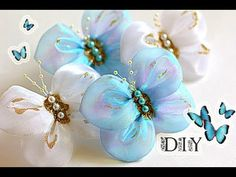 Бабочки - Банты Своими Руками | Butterfly | DIY - YouTube