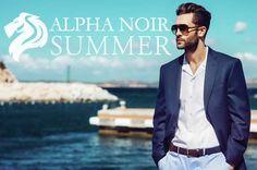 Alpha Noir tendencias moda hombre Verano 2017