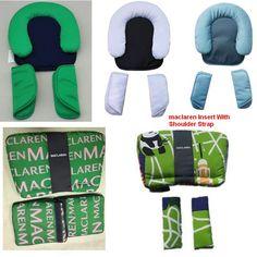 HOT! Universal Stroller Maclaren Accessories Baby Stroller Pillow Baby Safty Car Seat Pillow Baby Headrest Shoulder Pad Flower