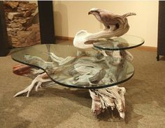 the perfect table for a fish bowl... or two! :D