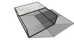 Large preview of 3D Model of Modern coffee table