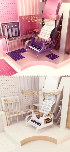 Mozart on Behance