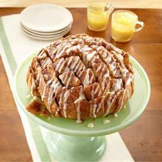 Cinnamon Pull-Apart Party Loaf from Land O'Lakes