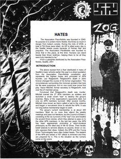 Bradstreet - Shadowrun - Harlequin - Hates  (Note: included only for full documentation of Bradstreet's artwork)