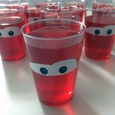 Lighting McQueen Glass! Free download template!!!