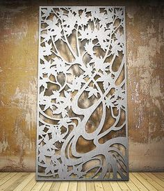 Botanical   Miles and Lincoln   Laser cut screens   Laser cut panels: