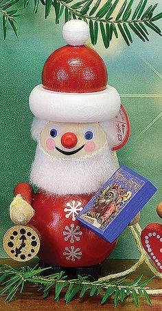 NIGHT BEFORE CHRISTMAS SANTA ORNAMENT BY STEINBACH